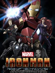 Iron Man Rise Of Technovore Dub